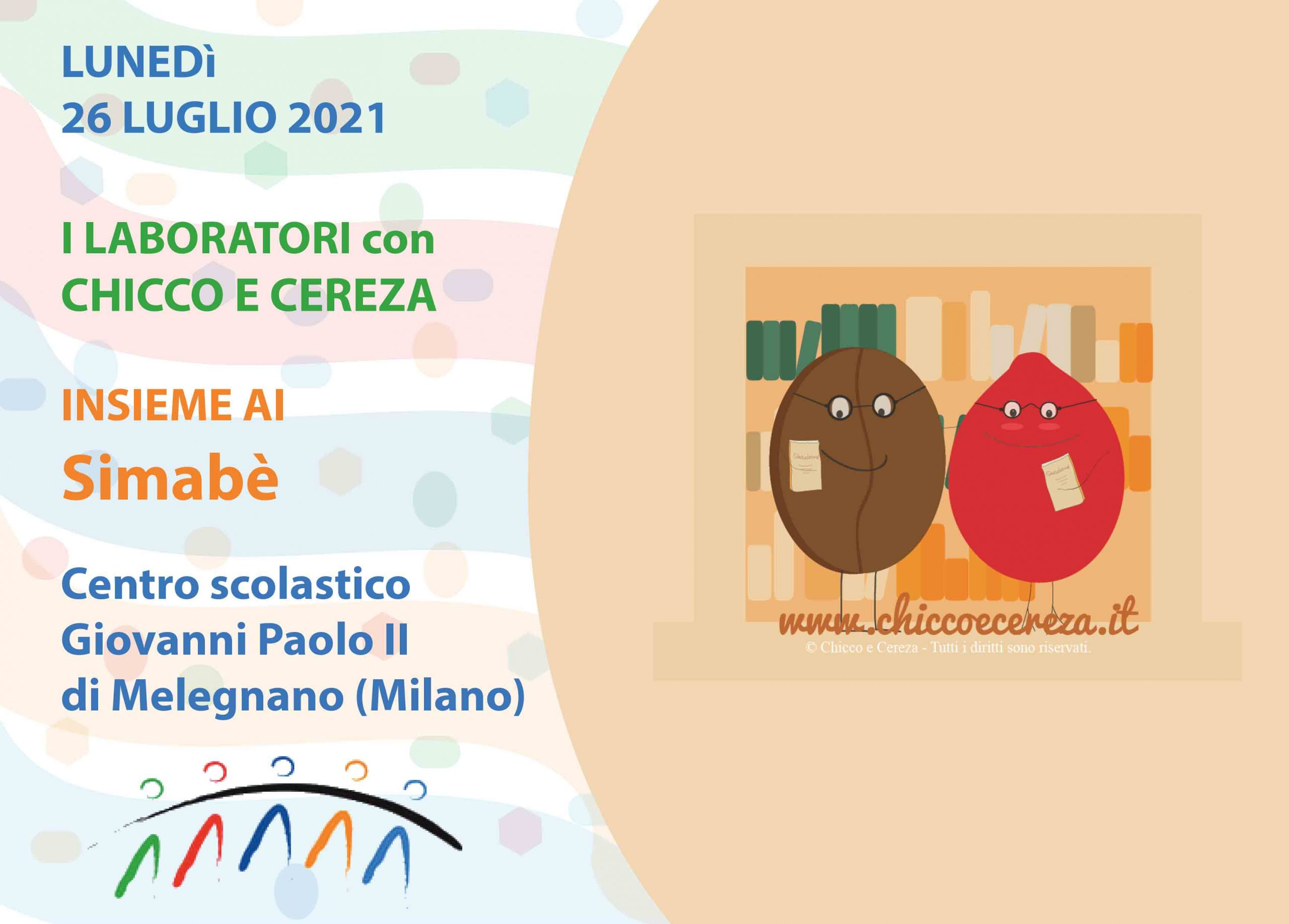 Chicco e Cereza tornano con un laboratorio estivo con i Simabè al Centro…